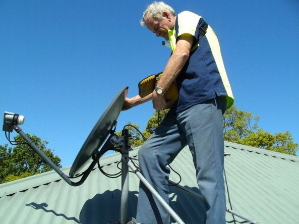 Satellite TV Antenna Installation